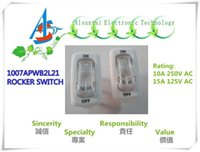 Wholesale 10A V AC A V AC RF1007 ENDURE RLC INRUSH CURRENT A WHITE LAMP SWITCH COVER TRANSPARENT