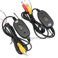 Wholesale 2 G Wireless transmitter and receiver for Car Reverse Rear View backup Camera and Monitor Parking Assistance