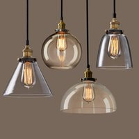 Wholesale Pendant Lamp with a personality of the glass pendant light bar dining room the living room lamps