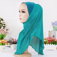 Wholesale 2016 New Women Islamic Head Wear Hat Underscarf Multicolor Available Choose Full Cover Inner Muslim Polyester Hijab Cap