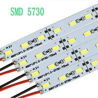 Wholesale New Super Bright LED Hard Rigid Bar light DC12V M led SMD Aluminum Led Strip light Fedex DHL
