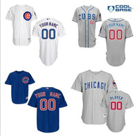 baseball personalized - free ship Baseball jersey chicago cubs custom chicago cubs jersey personalized baseball jersey cubs embroidery quality fast ship