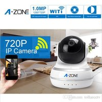 Wholesale A ZONE Network IP Camera Wifi Camera Day Night Pan Tilt Baby Monitor HD P MP Surveillance IP Camera with Video Night Version New