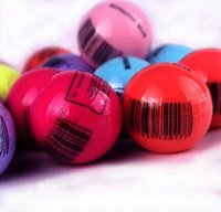 Wholesale 3D Lipstick New Makeup Round Ball Moisturizing lip balm Natural Plant Sphere lip Pomade lip balm Fruit Embellish lip Care