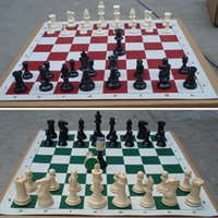 animal chess set - of Medieval Chess Pieces Plastic Weighted Full Complete Chess Set A00011 SPDH