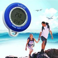 Wholesale Genuine Sunroad Multifunction Digital Altimeter Barometer Thermometer Compass Weather Forecast Time in Hiking Climbing Watch