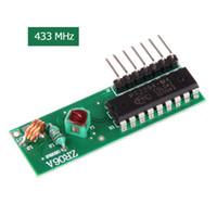 Wholesale New ZR06A DC5V Decode Wireless Receiver Module Data Transmission Module MHz E5M1 order lt no track