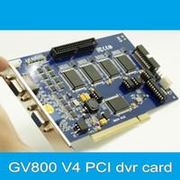 16 channel GV-800V4 PCI 240 fps (NTSC), 200fps (PAL). GV800 Board V4 , Software Version 8.5 16ch dvr card