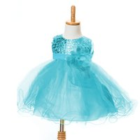 bebe sequin dress - Fashion Toddler Girl Summer Dress Sequin Wedding Gowns Pageant Party Kids Formal Girls Dresses Baby Kids Clothes Bebe Infant
