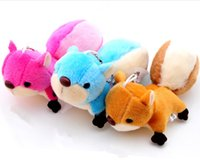 Wholesale wyeer Yun Squirrel Plush Toy Doll Small Pendant Oversized Ornaments Tail