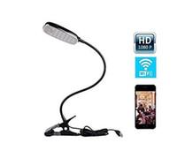 Wholesale HD P Wireless WiFi Camera Desk Lamp With Mini Hidden Cam Fashion Design Support Smartphone Free App Remote Control Table Lamp