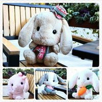 battery operated bug - 16 cm Amuse Rabbit Doll Plush Toy New Cute Lop Rabbit Bugs Bunny Doll Christmas Gift Girls Dolls Baby Toy