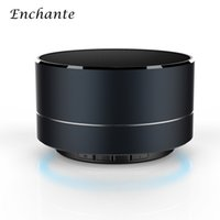 Wholesale ENCHANTE A10 Wireless Bluetooth Speakers With Microphone LED Portable Mini Super Bass Subwoofer Stereo Music Player TF Card