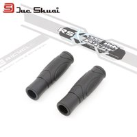 aluminum friction - A Pair Bicycle Handlebars Grip Rubber Material Soft Lock on Handle Part Streak Surface Enlarge Friction Ergonomic Cycling Grips