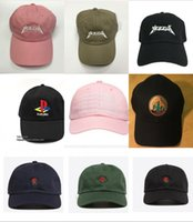 Wholesale Yeezus Embroidered Glastonbury Unstructured Dad Cap Unreleased Kanye Hat casquette sun rose cap god pray ovo rodeo hat