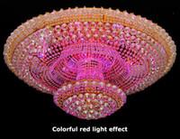 Wholesale LED crystal absorb dome light energy saving sitting room light hotel lighting C