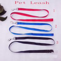bark supplier - small Pet leash dog leash Dog Rope Pet Products dog supplier colors can choose