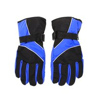 Wholesale New Men Ski Gloves Thermal Waterproof gloves For Winter Outdoor Sports Snowboard ISP s1061