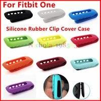 Wholesale Wrist Wearables Chic Silicone Case Kinds Color Rubber Clip Cover Case Clasp For Fitbit One Fitness Tracker No Tracker VS Alta