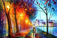 afremov prints - quot X35 quot inch Hot Sale art leonid afremov Movie The human body art Poster Custom ART PRINT