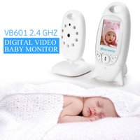 Wholesale Wireles Baby Radio Babysitter VB601 Infant GHz Digital Video Baby Monitor with Night Music Temperature Display Radio Nanny