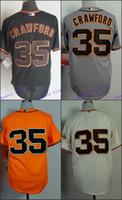 baseball jersey lettering - San Francisco Brandon Crawford Jerseys SF Baseball Jersey W Champion Path Stitched Name Lettering
