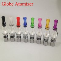 Wholesale Glass Globe atomizer pyrex glass tank Wax dry herb vaporizer pen vapor electronic cigarette glass atomizer glassomizer for ego t in stock