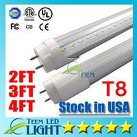 Cheap Stock in USA 4ft 22W 3ft 18W 2ft 11W T8 Led Tube Light 2400lm Led lighting Fluorescent Tube Lamp 1.2m LED tubes