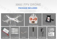 Wholesale New Arrive X6sw WIFI Fpv Toys Camera rc helicopter drone quadcopter gopro professional drones with camera HD VS Drone
