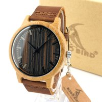 gift items - Fashion Men s White Maple Wood Watches With Genuine Leather Band Luxury Wood Watches for Men Best Gifts Item