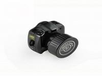 Acheter Petite vidéo espion-Le monde la plus petite caméra Mini HD Y2000 Caméscope Petit Mini Pocket DV DVR Camcorder Recorder Spy Invisible Web Cam
