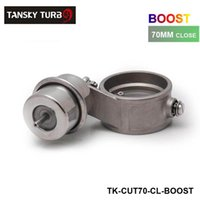 Wholesale Tansky High performance NEW Boost Activated Exhaust Cutout Dump mm CLOSED Style Pressure about BAR TK CUT70 CL BOOST