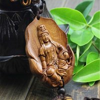 Wholesale Hot sale Chinese Knot Wood Craft Car Pendant Business Promotion Gift Luck Craft Key Holder Home Decorate AHJ025