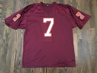 american tech - Virginia Tech Hokies Jerseys Atlanta Michael Vick Throwback College Sitiched Football Jersey Customized Name and Number