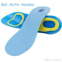 Wholesale Best Gel Activ Insoles Print Logo soft Silicone Damping Insole Shade For Men Women High Heel Shoes Clone Branded Insoles DHL Free