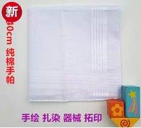 ascot - 24pcs cotton cm white handkerchief white handkerchief for birthday wedding