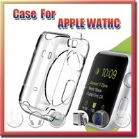 Wholesale 2015 TPU Case For Apple Watch Crystal Clear TPU Soft Cover For Apple Watch mm mm iwatch free DHL shipping