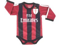 baby clothes soccer - 2016 New cotton classic soccer baby suit bebe oneise clothing for M Newborn free shippment