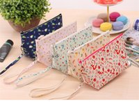 big cosmetic cases - New Big Size Women Make Up Bags Flower Floral Canvas Zipper Cosmetic Case Simple Casual Girl Lady Pouch Storage Travel Organize