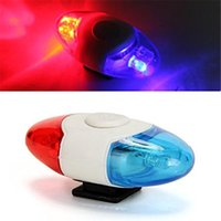 Wholesale Mini Waterproof Police Light LED Flash Mode Bicycle Bike Cycling Rear Light Safety Warning Tail Light Lamp
