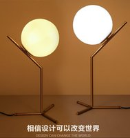 Wholesale 2016 new arrivals north Europe LED Glass globe table light bedside light table lights AC85 V light fixture LED night light