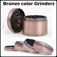 aluminium bronze alloy - 2016 NEW Bronze Color Grinders mm Aluminium Alloy Herb Grinders Crusher Grinders Pieces Grinder VS Bulldog Grinders
