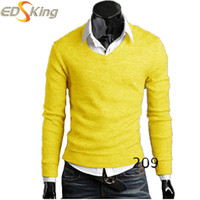 Wholesale Men Knitting Casual Fashion Sweaters mens knitted sweater Brand Clothing Pullovers Blusa Masculina Inverno Vetement Homme