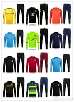 Wholesale NEW training suit Best Quality Arsenal tracksuits Chelsea training suit Arsenal tracksuits Real Madrid Jogging suit