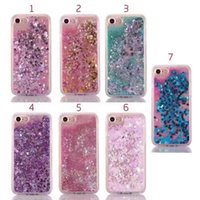 Wholesale Newest iPhone Plus Quicksand Glitter Stars Bling Cases D Liquid Floating Soft TPU Back Cover Case for iPhone Plus Luxury Protector