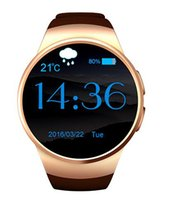 Wholesale KW18 Bluetooth smart watch full screen Support SIM TF Card Smartwatch Phone Heart Rate for IOS Android