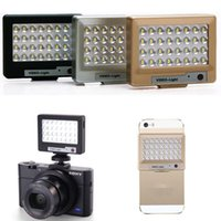 Wholesale Price Portable Photography LED Video Light for Camera and Smartphone iPhone Plus