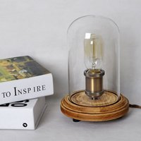 Wholesale Modern Nordic Home decoration table lamp fashion American bedroom bedside lamp retro light fixture