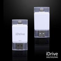 backup usb flash memory drive - SHOWKOO GB iDrive Reader iFlash External Storage Memory USB Flash for iPhone plus S s plus for Mac iFlash Drive Backup