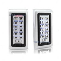 access control panels - IP68 Waterproof Outdoor LED Keypad Metal Standalone Access Control Wiegand Fast Operating Speed RF Door Access V and V Door Access